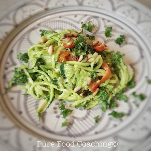 courgetti avocado2