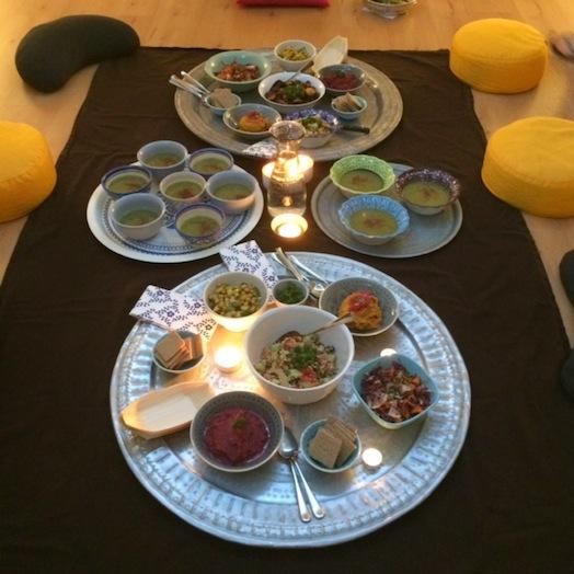 detox yoga & food