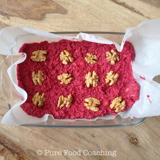 rode biet koek