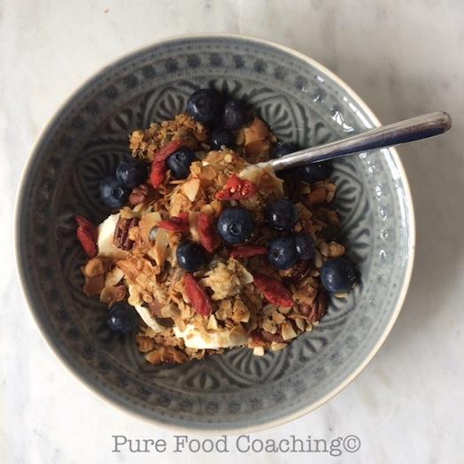 yoghurt granola